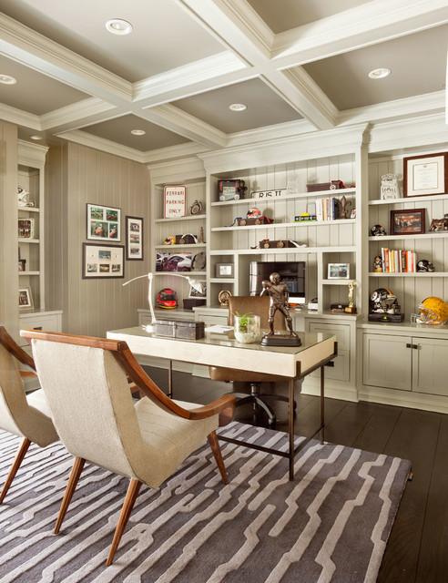 Traditional Home Office In Traditional Home Office Design For Your Relaxing Work