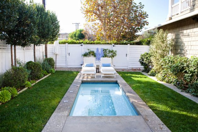 Narrow Swimming Pool Designs For Limited Spaces