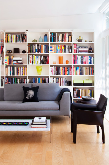 Creative Designs For Your Built-In Home Library Which Are